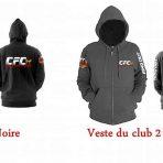 Veste à capuche CFC 2018